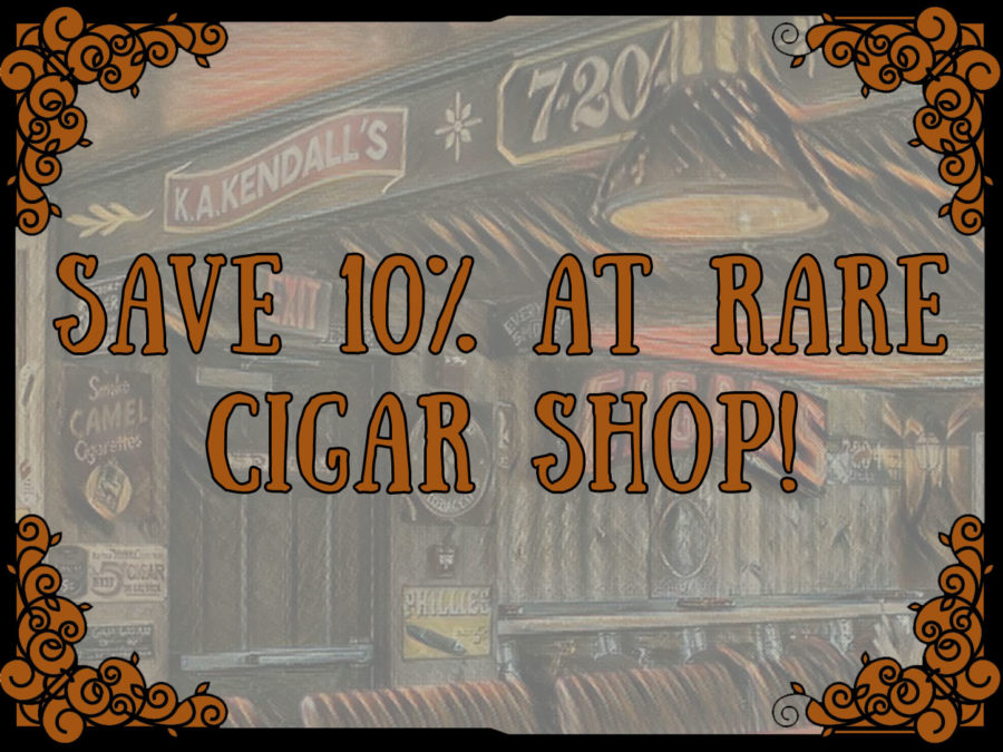 10% Off At Rare Cigar Shop