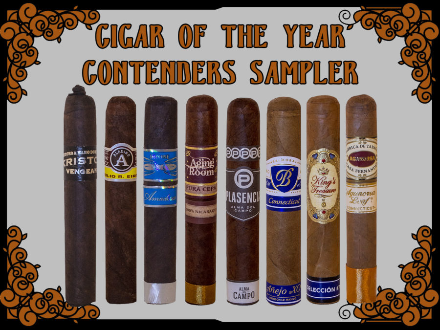 2018 Cigar Of The Year Contenders Sampler